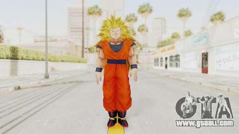 Dragon Ball Xenoverse Goku SSJ3 for GTA San Andreas second screenshot