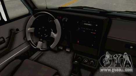 Volkswagen Golf 1 Cabrio VR6 for GTA San Andreas inner view