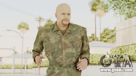 MGSV Ground Zeroes US Soldier No Gear v2 for GTA San Andreas