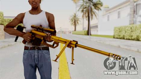 Cheytac M200 Intervention Gold for GTA San Andreas third screenshot