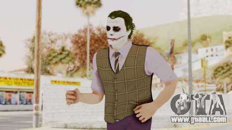 Joker Skin for GTA San Andreas