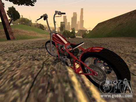 Chopper Old School for GTA San Andreas right view