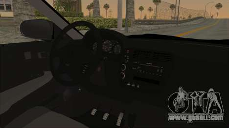 Honda Civic 1995 FnF for GTA San Andreas inner view