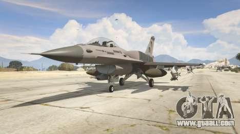 GTA 5 F-16C Block 52
