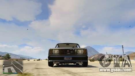 GTA 5 VAZ-2104 Stock rear left side view