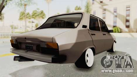Renault 12 for GTA San Andreas back left view