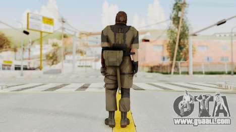 MGSV The Phantom Pain Venom Snake No Eyepatch v1 for GTA San Andreas third screenshot