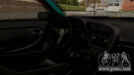 Toyota Celica GT Drift Monster Energy Falken for GTA San Andreas inner view