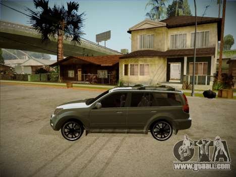 Great Wall Hover H2 2008 for GTA San Andreas back left view