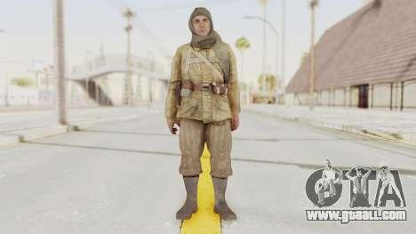 COD BO Nikholai for GTA San Andreas second screenshot
