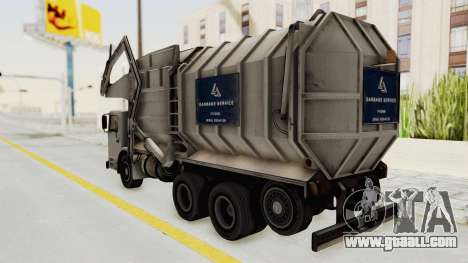 New Trashmaster for GTA San Andreas right view