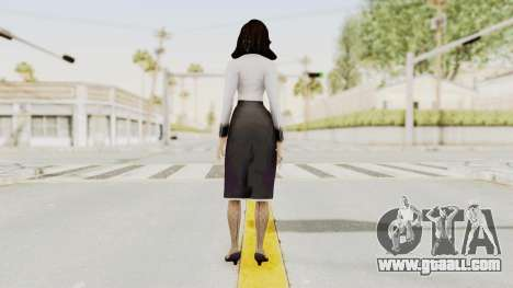 Bioshock Infinite Burial at Sea Elizabeth for GTA San Andreas third screenshot