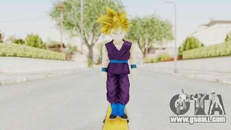 Dragon Ball Xenoverse Gohan Teen DBS SSJ1 v1 for GTA San Andreas second screenshot