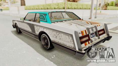 GTA 5 Dundreary Virgo Classic Custom v1 for GTA San Andreas side view
