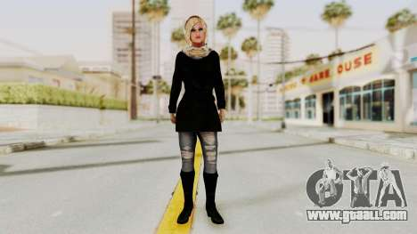 Iranian Girl Skin for GTA San Andreas second screenshot
