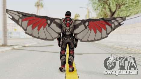Captain America Civil War - Falcon for GTA San Andreas third screenshot