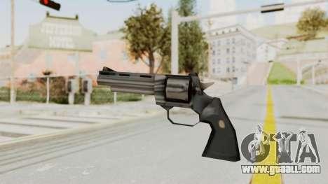 VC Python Pistol for GTA San Andreas second screenshot