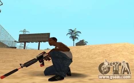 M4 Cyrex for GTA San Andreas forth screenshot