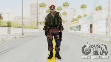 Battery Online Russian Soldier 1 v1 for GTA San Andreas second screenshot