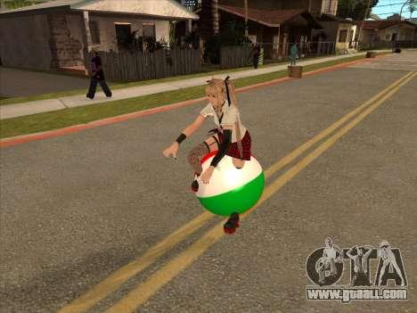 Beachball for GTA San Andreas