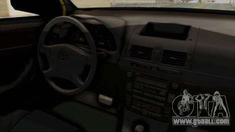 Toyota Hilux Expressway Patrol for GTA San Andreas inner view