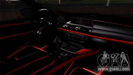 BMW X5M ( Davidich ) for GTA San Andreas back view