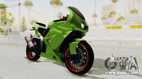 Kawasaki Ninja 250R Asian Style for GTA San Andreas