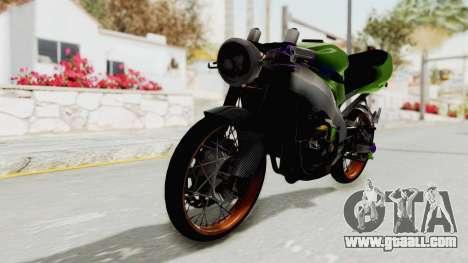 Kawasaki Ninja ZX-9R Drag for GTA San Andreas