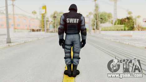 Batman Arkham Origins Swat for GTA San Andreas third screenshot