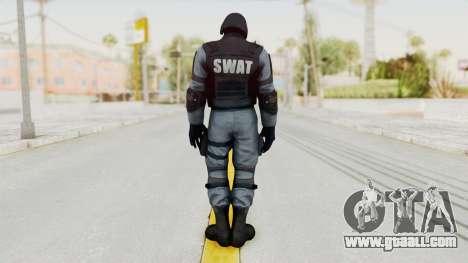 Batman Arkham Origins Swat for GTA San Andreas third screenshot