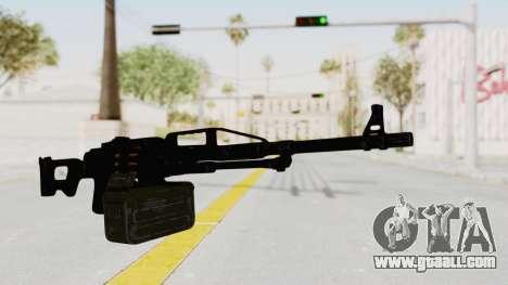 PKM 7.62mm Battlezone Mod for GTA San Andreas