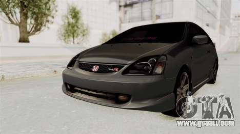 Honda Civic Type R EP3 for GTA San Andreas back left view
