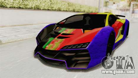 GTA 5 Pegassi Zentorno PJ for GTA San Andreas side view