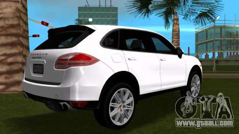 Porsche Cayenne 2012 for GTA Vice City back left view
