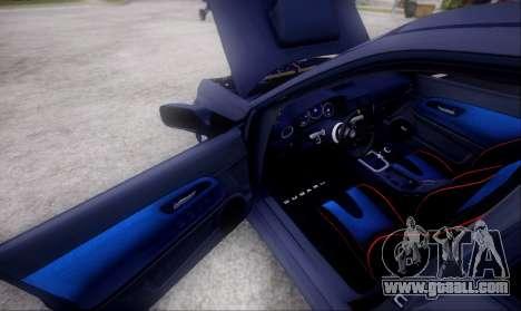 Subaru impreza WRX STi LP400 v2 for GTA San Andreas inner view
