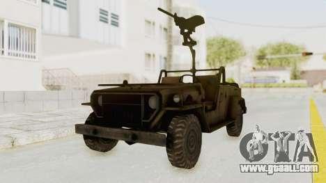 MGSV Jeep for GTA San Andreas
