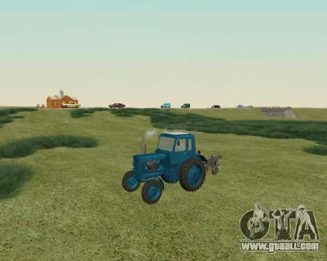 MTZ 80 Belarus for GTA San Andreas left view
