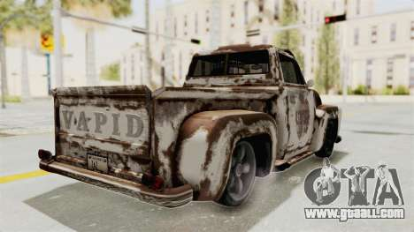 GTA 5 Slamvan Lowrider PJ2 for GTA San Andreas upper view