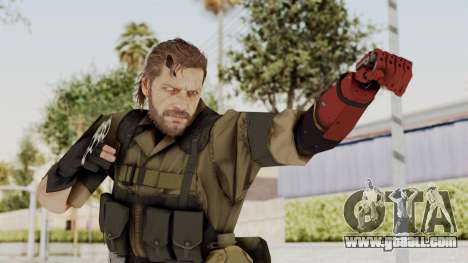 MGSV The Phantom Pain Venom Snake No Eyepatch v1 for GTA San Andreas
