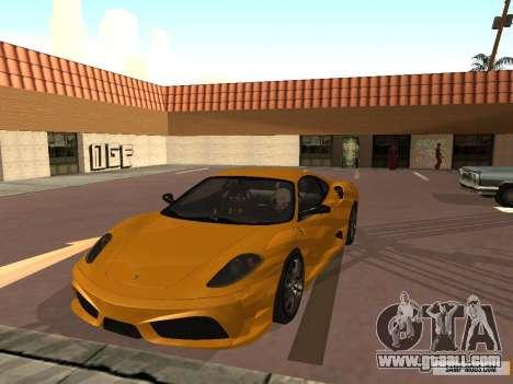 Ferrari F430 Scuderia BULKIN EDITION for GTA San Andreas left view
