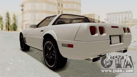 Chevrolet Corvette C4 1996 for GTA San Andreas back left view