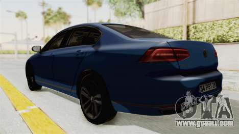 Volkswagen Passat B8 2016 Highline IVF for GTA San Andreas