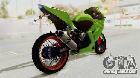 Kawasaki Ninja 250R Asian Style for GTA San Andreas left view