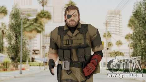 MGSV The Phantom Pain Venom Snake Olive Drab for GTA San Andreas