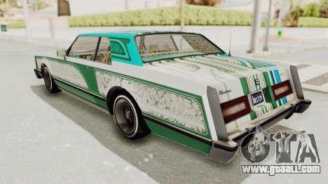 GTA 5 Dundreary Virgo Classic Custom v1 for GTA San Andreas