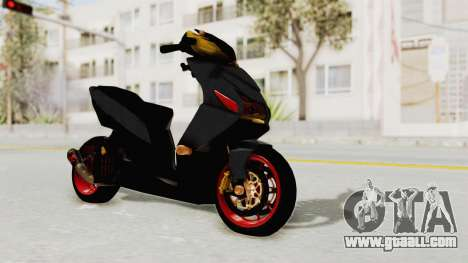 Honda Vario Concept 200CC for GTA San Andreas right view