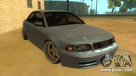 Audi S4 for GTA San Andreas back view