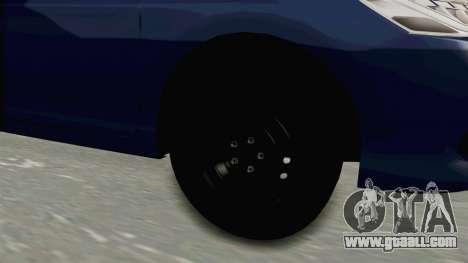 Honda Accord 2017 for GTA San Andreas back view