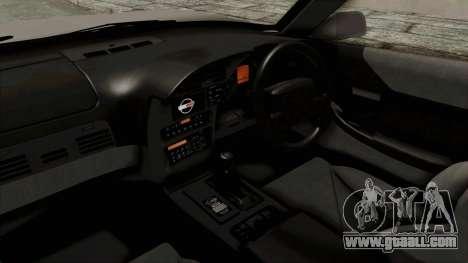 Chevrolet Corvette C4 1996 for GTA San Andreas inner view