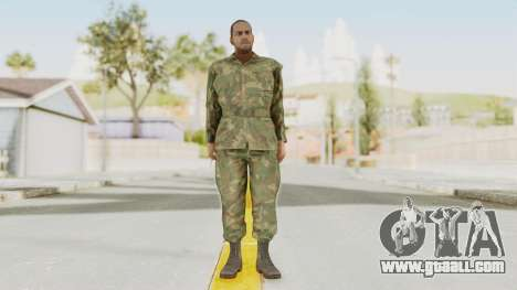 MGSV Ground Zeroes US Soldier No Gear v1 for GTA San Andreas second screenshot